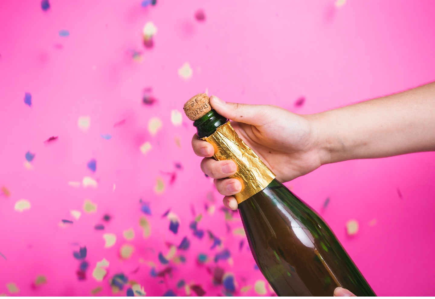 champagne tijd